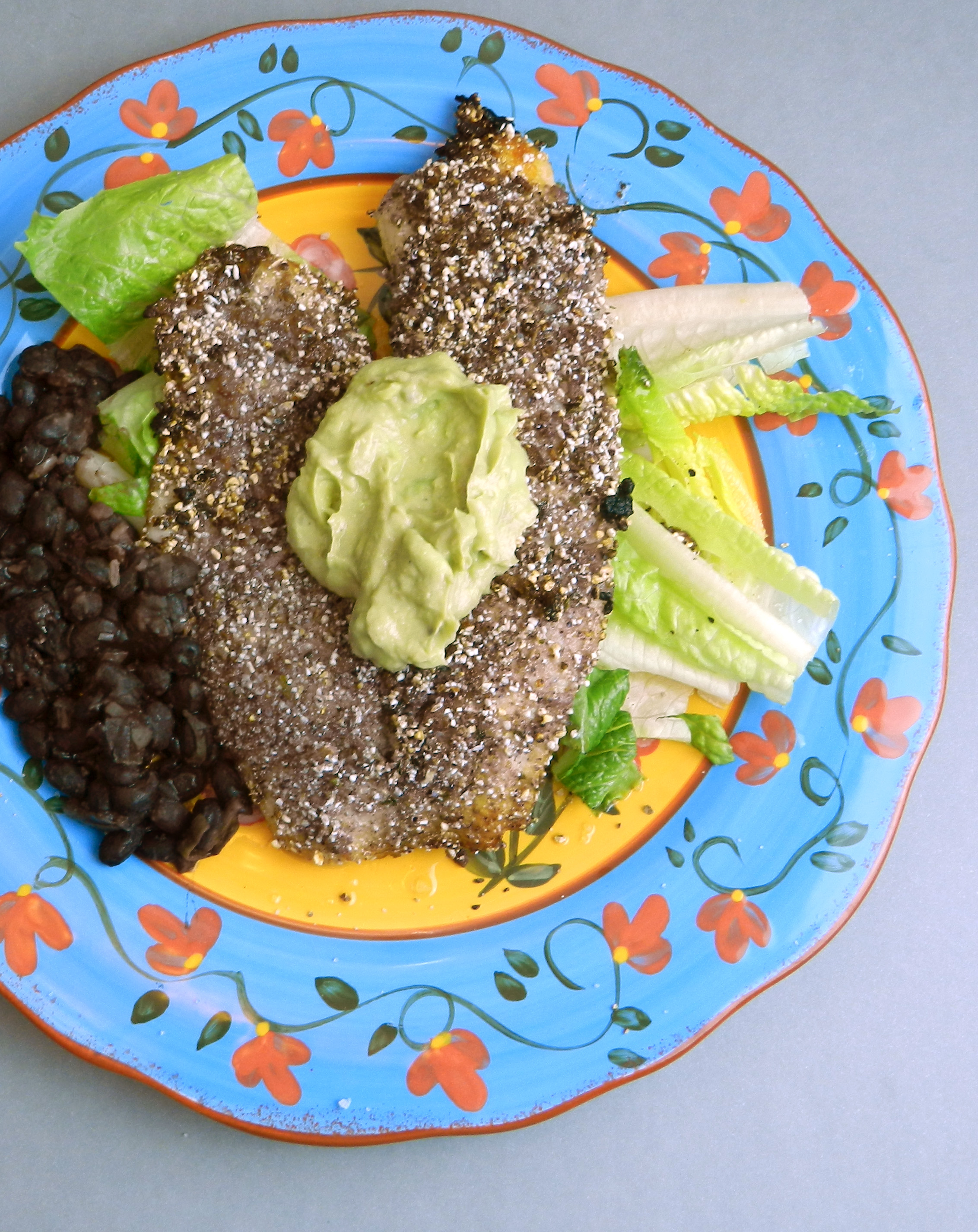 Tilapia Crusted With Blue Cornmeal - Discovery Cooking
