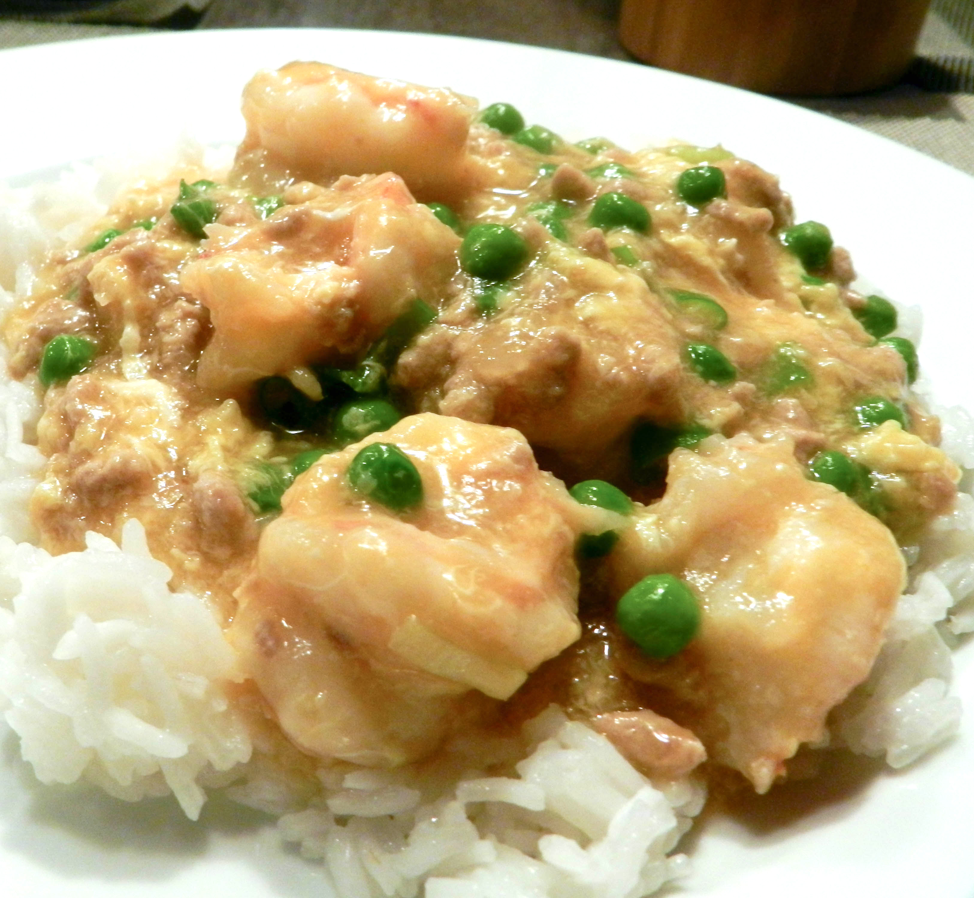 Shrimp With Lobster Sauce - Discovery Cooking