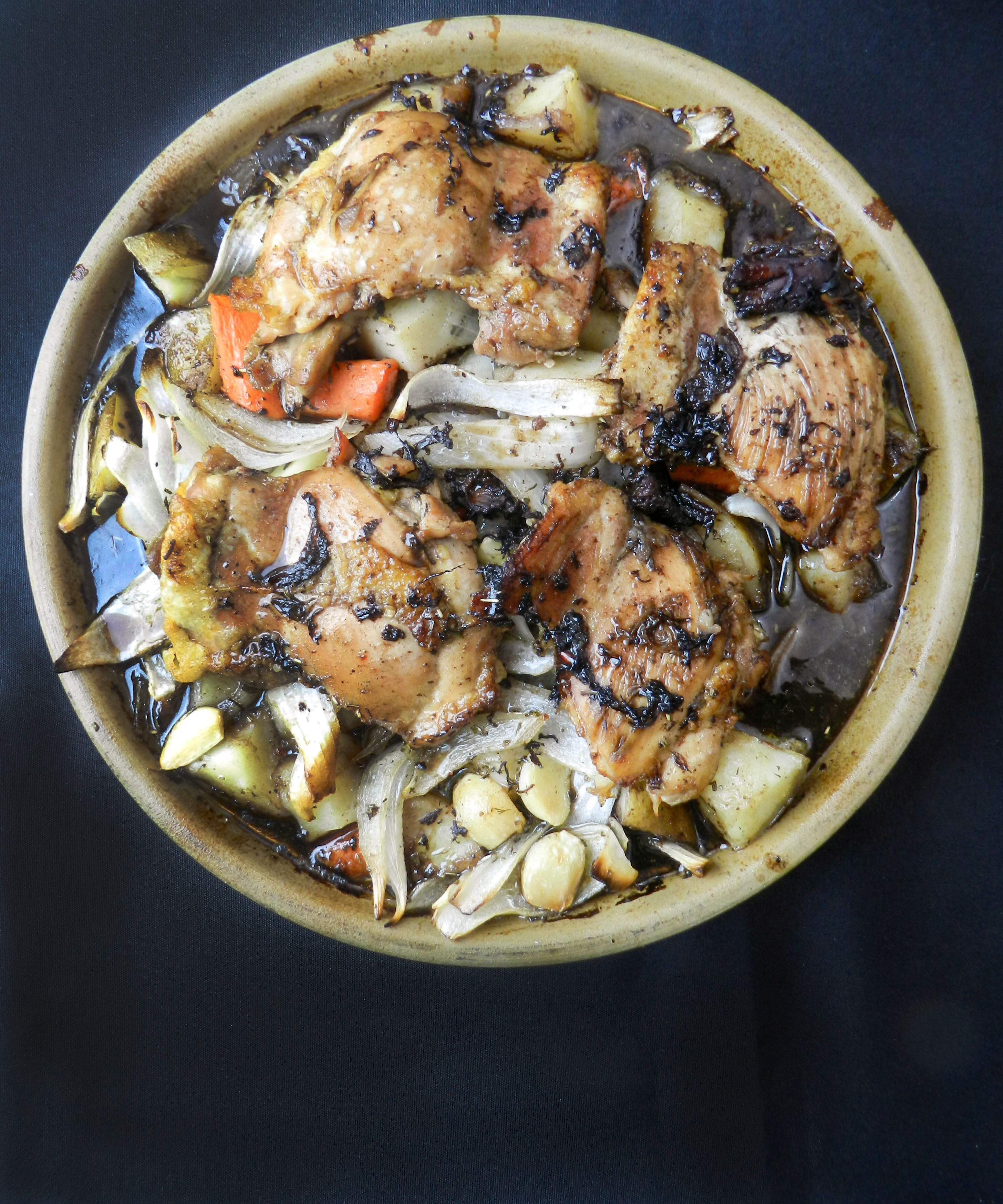 Balsamic Braised Chicken with Roasted Vegetables - Discovery Cooking